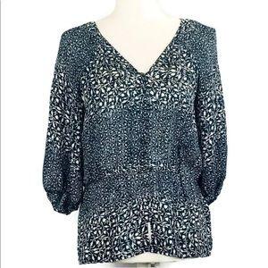 Banana Republic Sheet short sleeve blouse XS